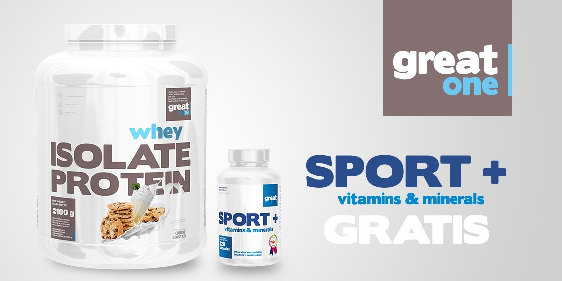 Whey Isolate Protein + Sport+ Vitamins&Minerals