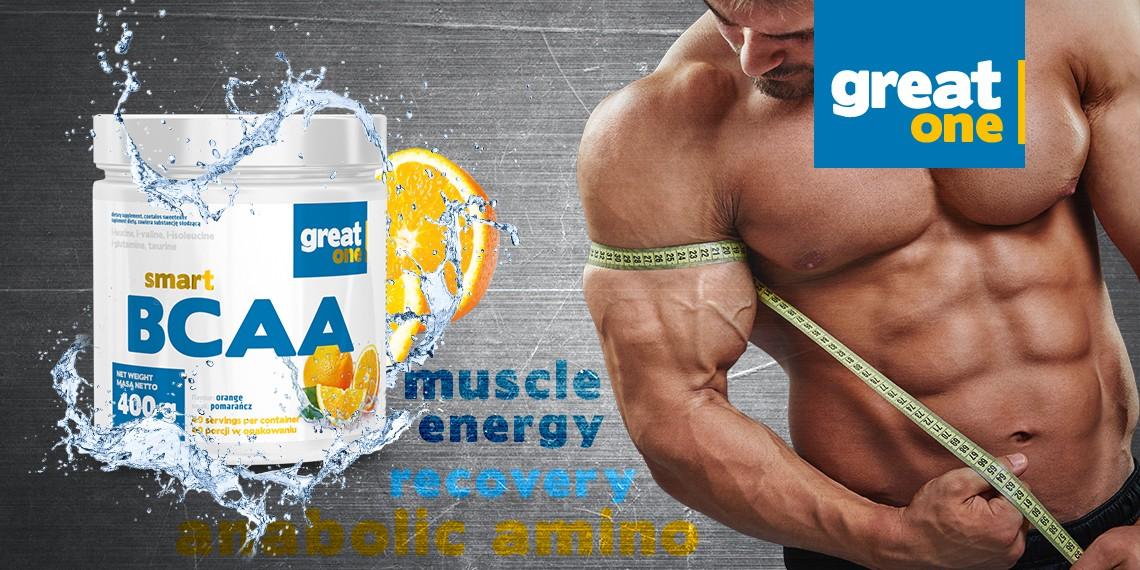 Smart BCAA 400g Great One