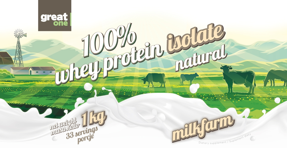 100% Whey Protein Isolate Natural