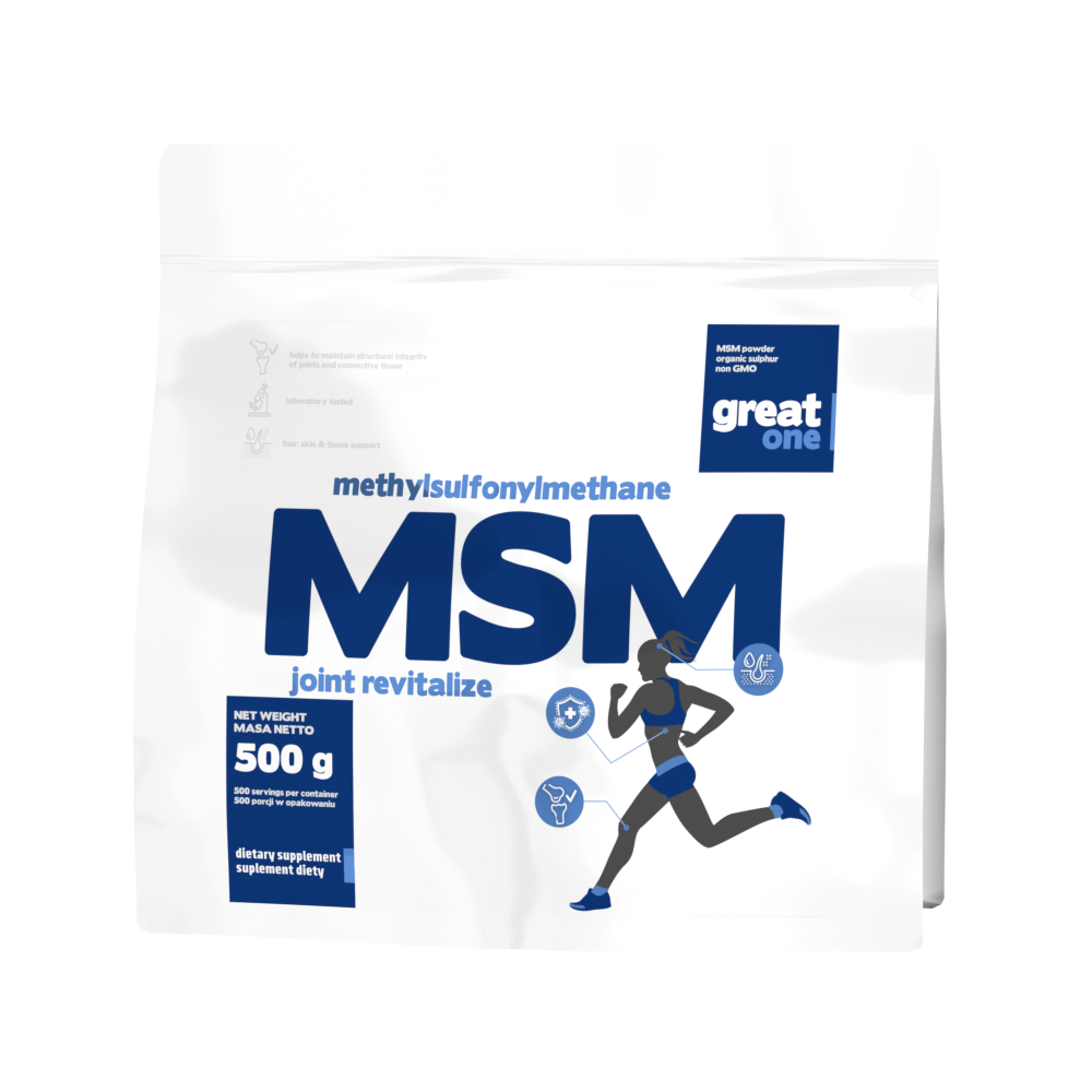 MSM joint revitalize 500g Great One