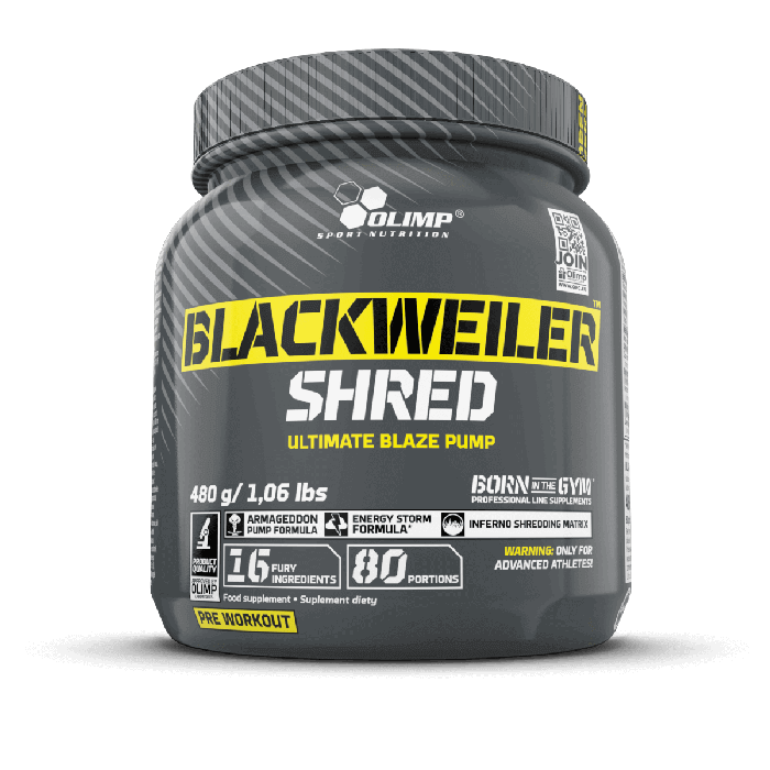 BlackWeiler Shred 480 g Olimp