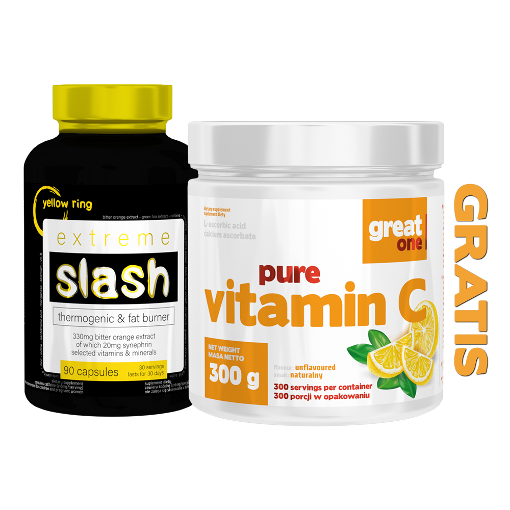 Extreme Slash + Pure Vitamin C GRATIS