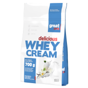 Delicious Whey Cream 700g Great One